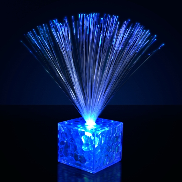 "5.5"" Light Up Small Blue Centerpieces"