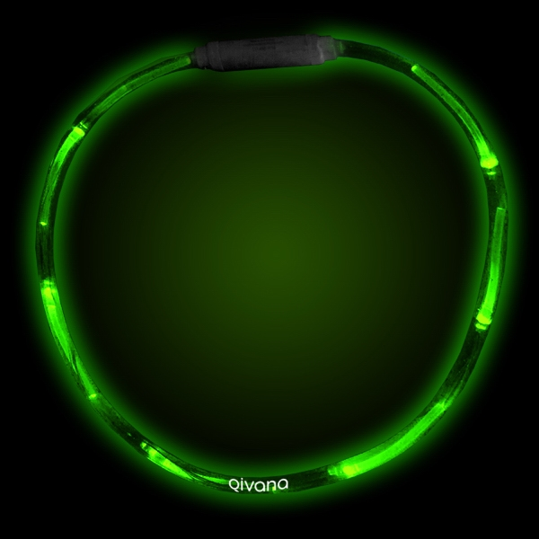 "Green 27"" Led Light-up Necklace Photo"
