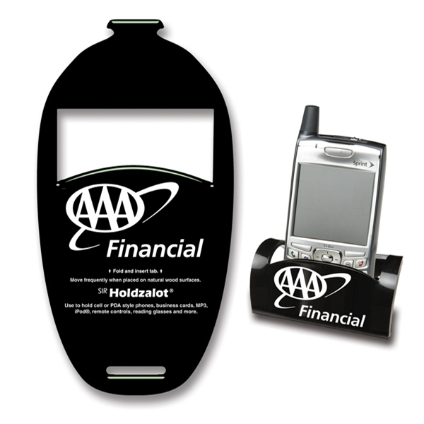 Sirholdzalot (r) Sof-touch (tm) - Phone Holder - Rectangle. Spot Color Screen Print Guaranteed Permanent; Made In Usa Photo