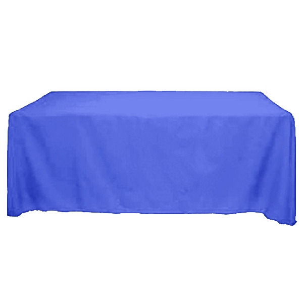 Tablecover - Table Cover 8 w x 30d x 29h-No Artwork  8' fitted table cover, fire retardant.
