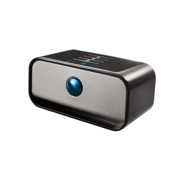 Brookstone (r) Big Blue (tm) Bluetooth (r) - Black - Wireless Speaker With Built-in Rechargeable Battery Photo