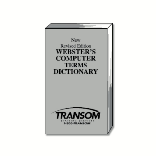 Webster's Computer Terms Dictionary Photo