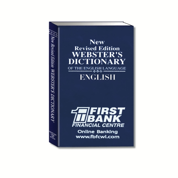 Webster's Dictionary Of The English Language Photo