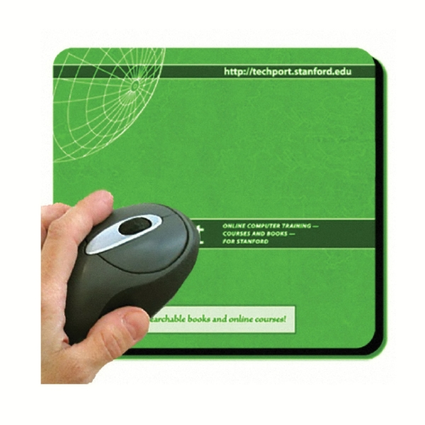 "Dye Sublimated 8"" X 9.5"" Mouse Pad, 1/8"" Thick Photo"