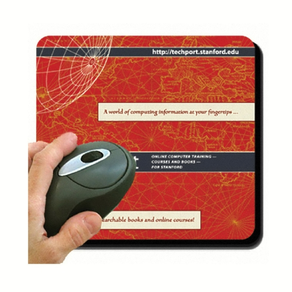 "7.5"" X 8"" X 1/16"" Dye Sublimated Mouse Pad Photo"