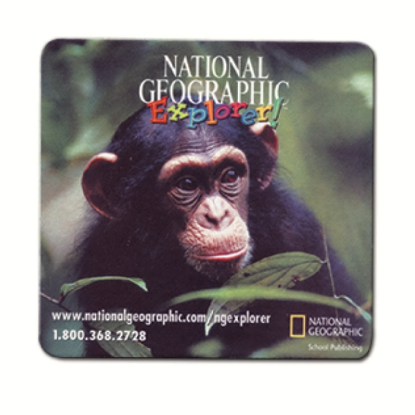 "7.5"" X 8"" Ultra Slim Hard Surface Mouse Pad Photo"