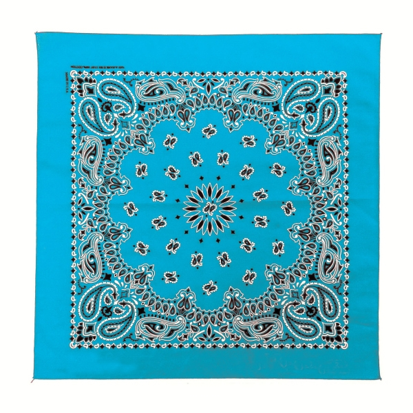 Usa Made Full Paisley Design Bandannas - Unimprinted Photo