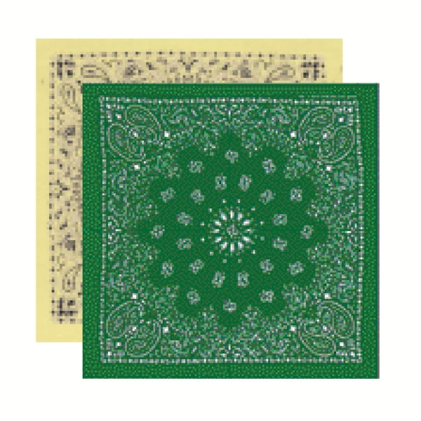 Imported Full Paisley Design Bandannas - Unimprinted Photo