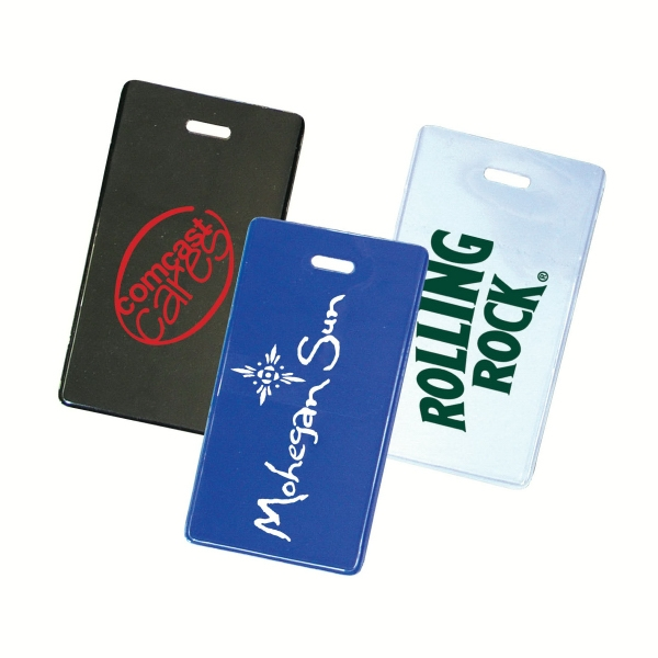 Flexible Durable Plastic Luggage Tag Photo