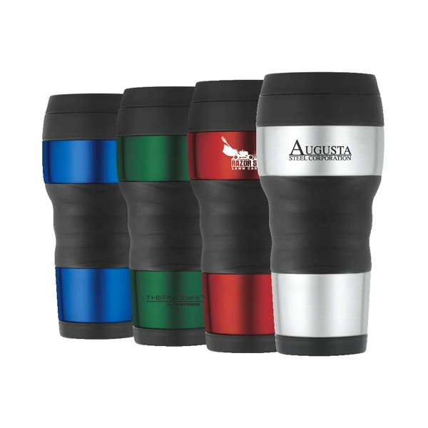 Thermo Cafe' (tm) - Travel Tumbler Fits Most Automotive Cup Holders Photo