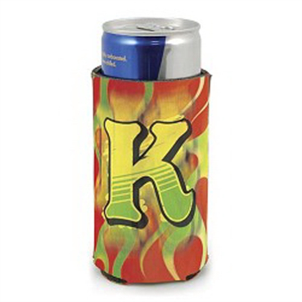 Collapsible Insulator Beverage Holder Fits The Small Energy Drink Type Cans Photo
