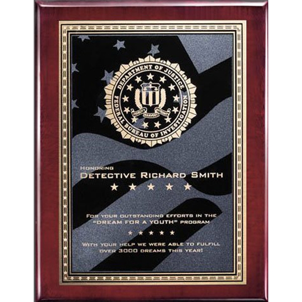 Oakleigh/Stars and Stripes Plaque