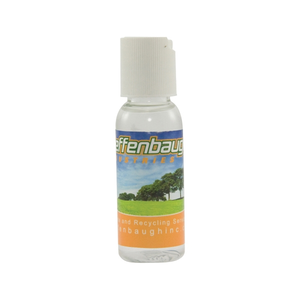 Hand Sanitizer Heros - 1 Oz. Hand Sanitizer. Antibacterial, Anti-germ Hand Sanitizer In 1 Oz. Bottle Photo