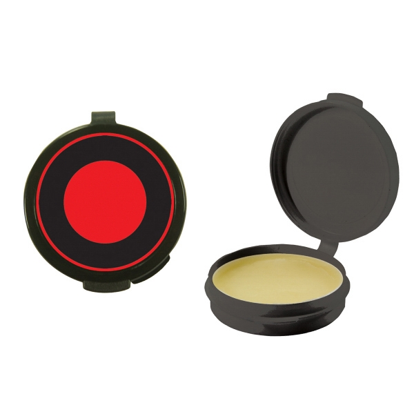 Lip Balm Flavor Mania - Black - Lip Balm In Round Case. Lip Balm/lip Moisturizer/lip Gloss/chapstick In Case Photo