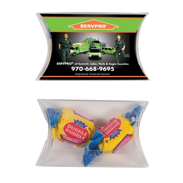 Candy King - Small Pillow Pack With Bubble Gum. A Bubble Gum Special In A Candy Pack Photo