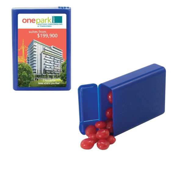Candy King - Refillable Plastic Mint/candy Dispenser With Cinnamon Red Hots. Candy Dispenser Photo