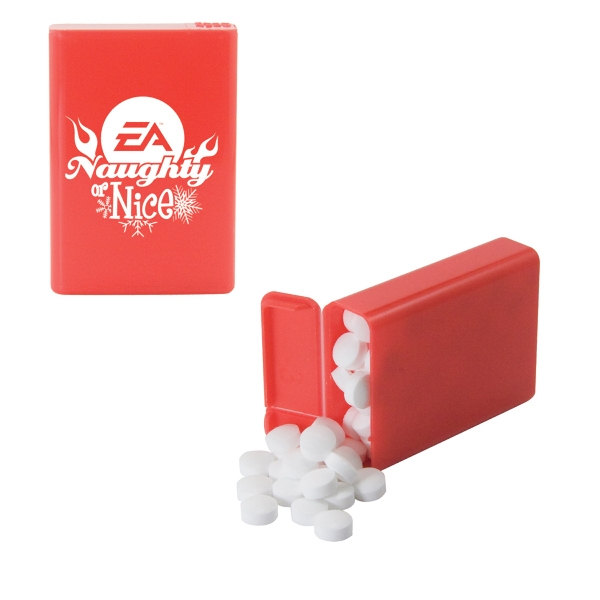 Mint Man - Refillable Plastic Mint/candy Dispenser With Sugar-free Mints. Breath Mints Photo