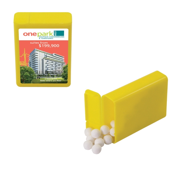 Candy King - Refillable Plastic Mint/candy Dispenser With Signature Peppermints. Breath Mints Photo