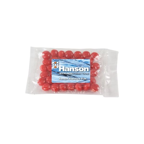 Candy King - Small Promo Candy Pack With Cinnamon Red Hots. Cinnamon Red Hots In Promo Pack Photo