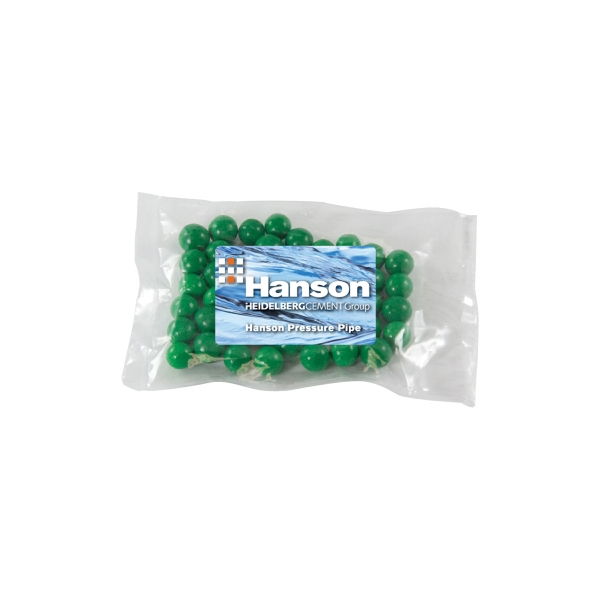 Candy King - Small Promo Candy Pack With Spearmints. Spearmint Breath Mints In Promo Pack Photo