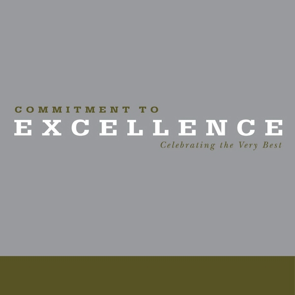 Gift Of Inspiration: Commitment To Excellence - Commitment To Excellence, A Hardcover, 128 Page Book Photo