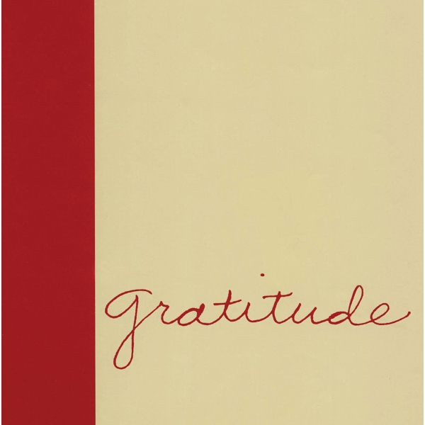 Gratitude - Hardcover With Jacket Book Of Appreciation Photo