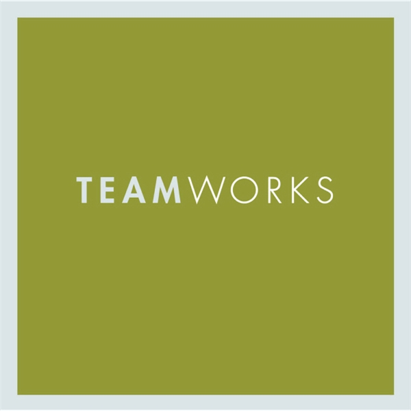 Teamworks - A Gift Of Inspiration Quotation Book. Hardcover, 128 Pages Photo