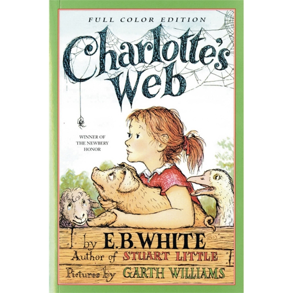Charlotte's Web Book. Softcover, 192 Pages Photo