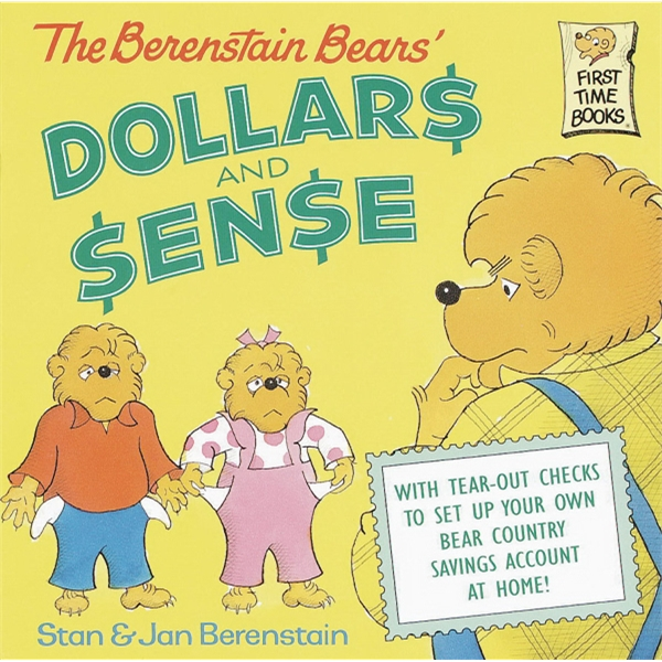 Berenstain Bears' Dollars And Sense. Softcover 32 Pages Photo