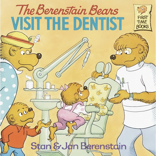 Berenstain Bears Visit The Dentist Softcover 32 Page Book Photo