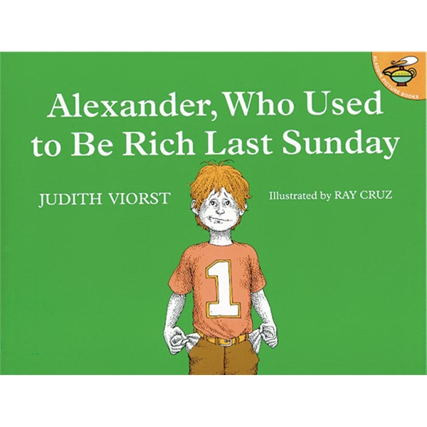 Alexander, Who Used To Be Rich, Last Sunday. Softcover, 32 Pages Photo