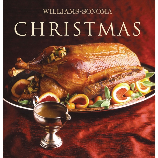 William-sonoma - Willilams-sonoma: Christmas Cookbook, Hardcover With Jacket Photo