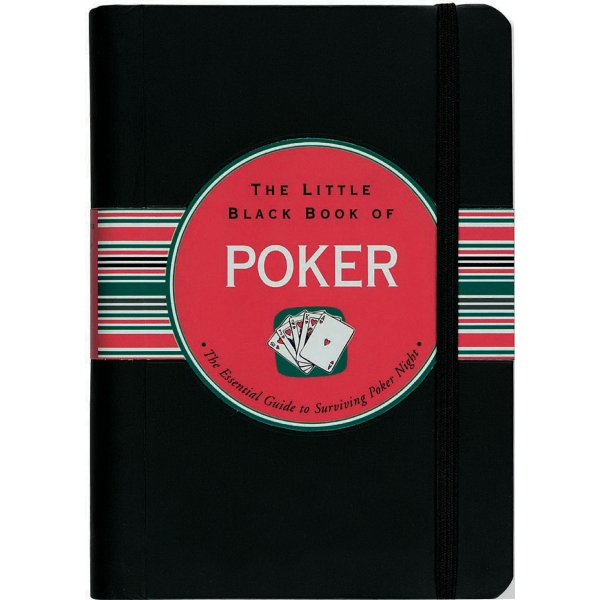 Little Black Book Of Poker - Flexi-cover, 160 Page Book Photo