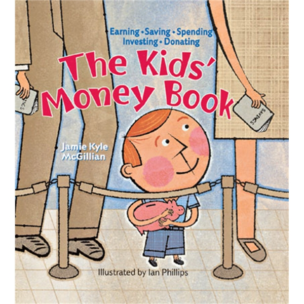 Kids' Money Book On Finances. Paperback, 96 Pages Photo