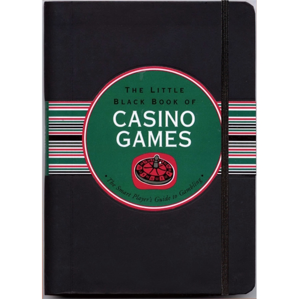 Little Black Book - Flexi-cover, 160 Page Book On Casino Games Photo