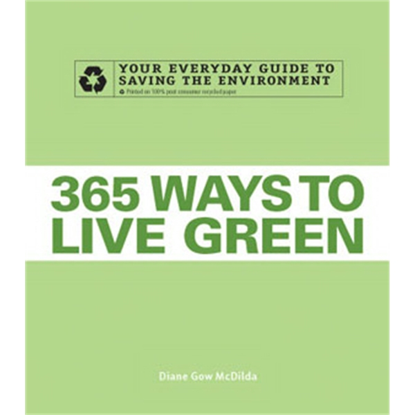 365 Ways To Live Green - Paperback Book The Environment Photo