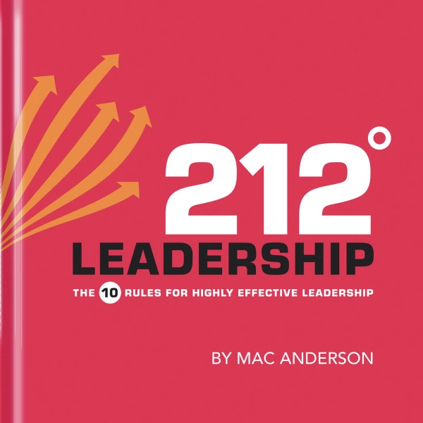 212 Leadership. Hardcover, 96 Pages Photo