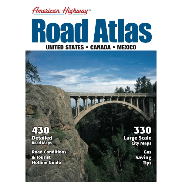American Highway - Large Format Road Atlas Photo