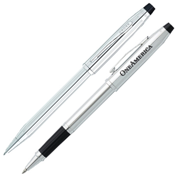 Cross (r) Century Ii (r) - Lustrous Chrome Pen Set Photo