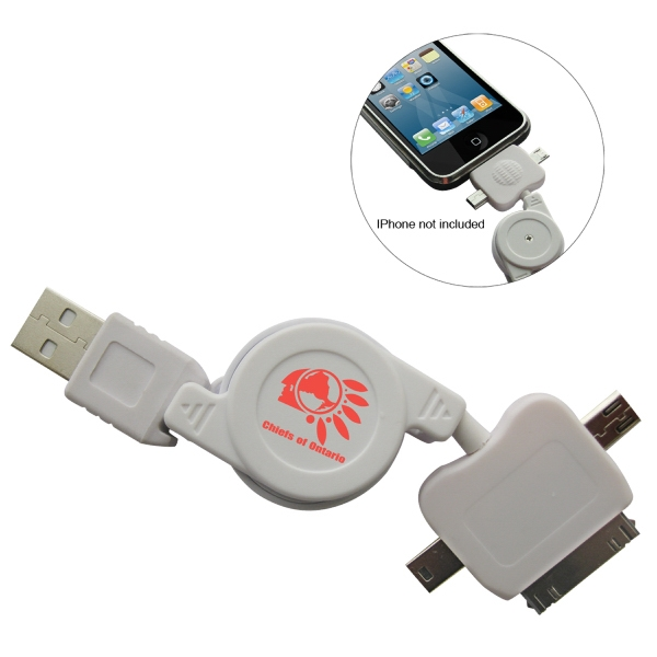 3 In 1 Retractable Usb For Any Usb Adaptor Photo