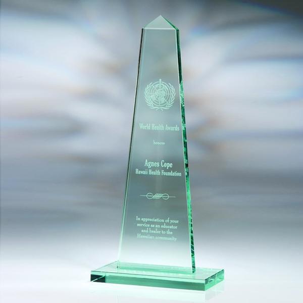 "Award-Obelisk 10 1/2"""