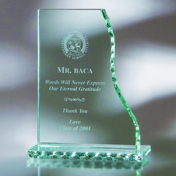 "Award-Vrtcl. Wave, Pearl Edge 7 1/2"""