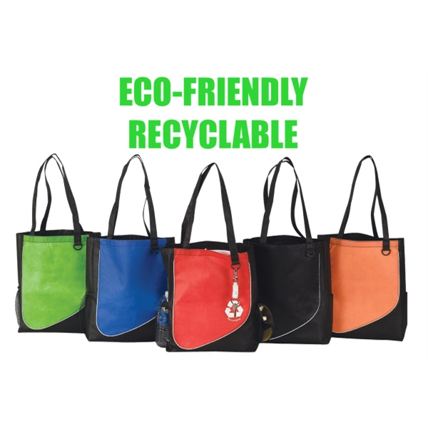 Eco Friendly Tote, Made From Non-woven Eco Friendly Recyclable Polypropylene Photo