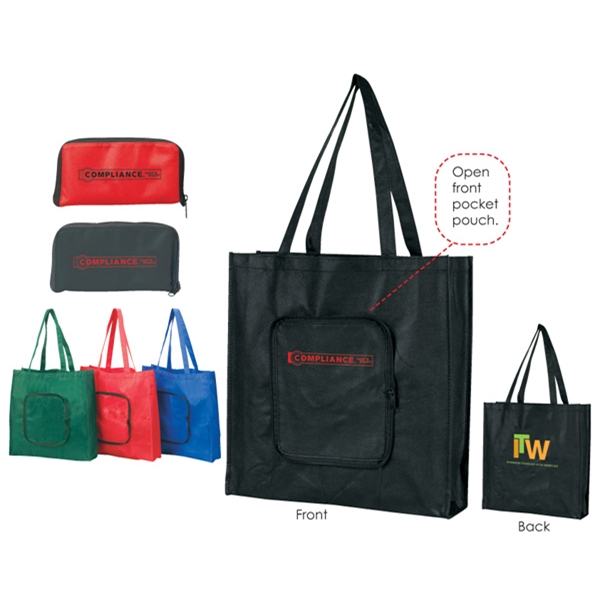 Non-woven Tote Made Using 100 Gsm Polypropylene Photo