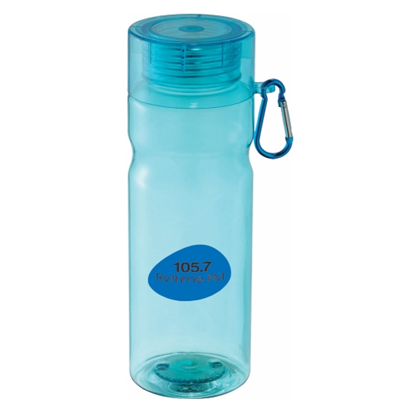 The Maui - 28-oz Sports Bottle With Twist On Lid And Carabiner Photo