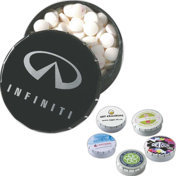 Snap-It Promotional Tin with MicroMints (R)