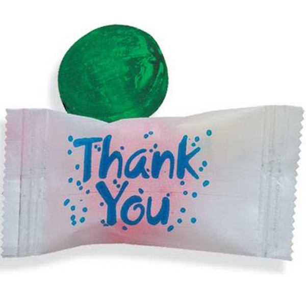 "Stock Wrapped Individual ""Thank You"" Candy"