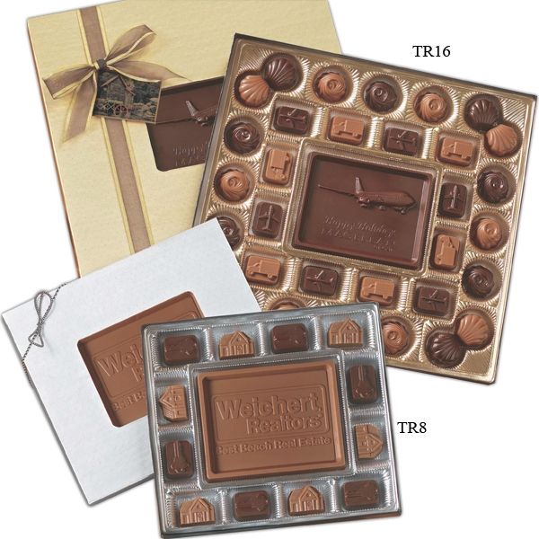 Medium Custom Molded Chocolate Delights Gift Box