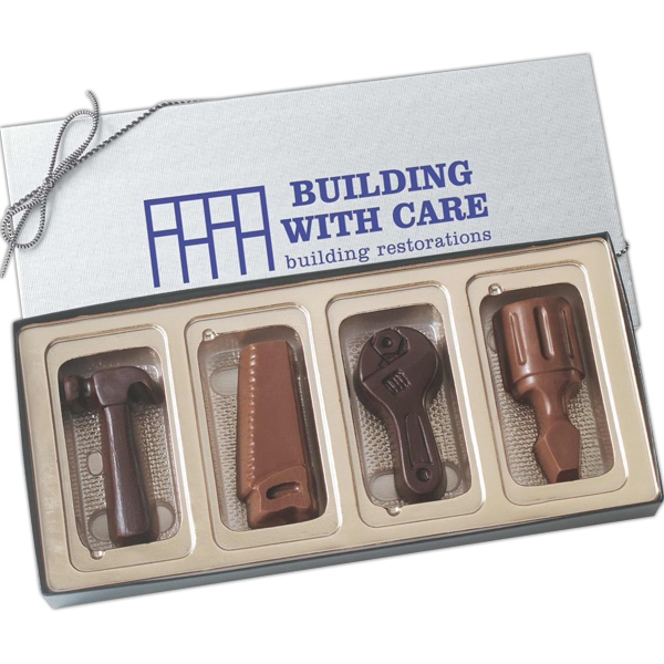 chocolate tools in box