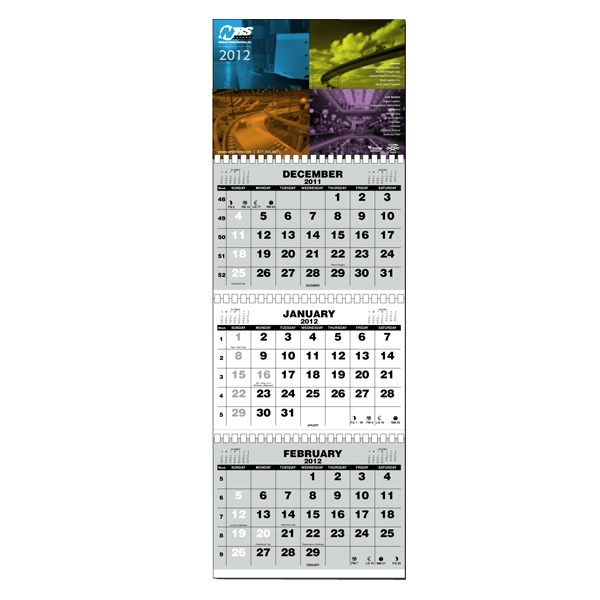 Budget Friendly Calendar With Gbc Comb Binding And Large Easy To Read Numbers Photo